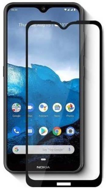 DSCASE Edge To Edge Tempered Glass for Nokia 2.4