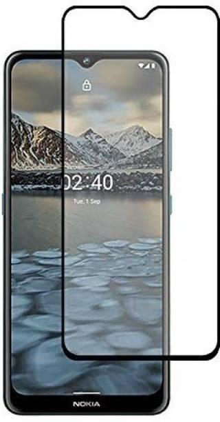 AKSHUD Edge To Edge Tempered Glass for Nokia 2.4