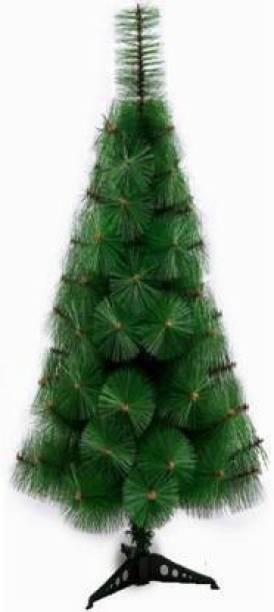 Tanishka Creations Pine 61 cm (2.0 ft) Artificial Christmas Tree
