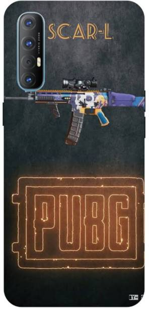 Snapcrowd Back Cover for OPPO Reno3 Pro Pubg Scra-l Gun back cover