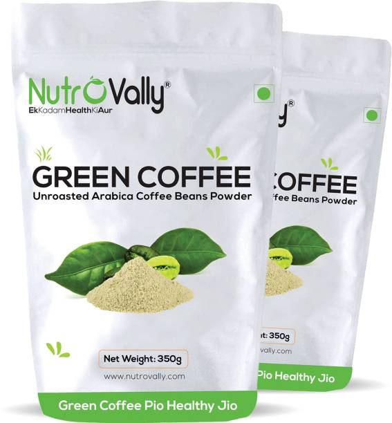 NutroVally Green Coffee Beans Powder for Weight Loss Instant Coffee