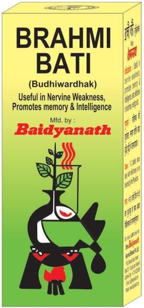 Baidyanath Brahmi Bati (Buddhi Vardhak)
