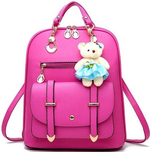 RDF Stylish, Fashionable & Simple Bag For Ladies/Girls/Women School,College,Traveling Bag Casual Backpack, Waterproof Backpack (10 L) (, 12 inch) Waterproof Backpack