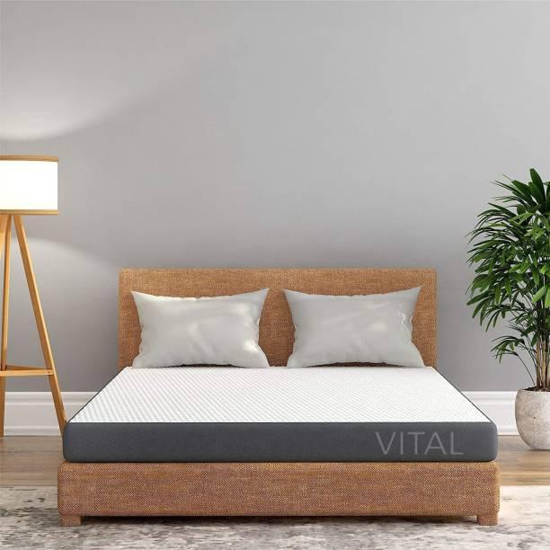 Livpure Smart Vital Reversible Dual Comfort Mattress 5 Inch Twin 5 inch Double High Resilience (HR) Foam Mattress