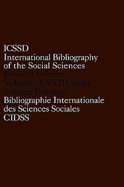 IBSS: Political Science: 1984 Volume 33