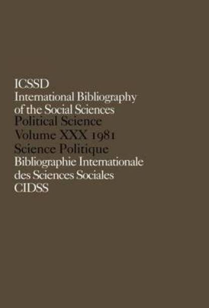 IBSS: Political Science: 1981 Volume 30