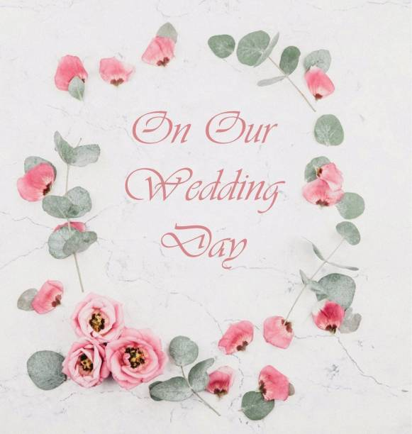 Wedding Guest Book, Flowers, Wedding Guest Book, Bride and Groom, Special Occasion, Love, Marriage, Comments, Gifts, Wedding Signing Book, Well Wish's (Hardback