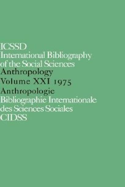 IBSS: Anthropology: 1975 Vol 21