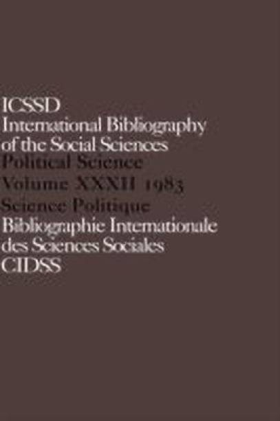 IBSS: Political Science: 1983 Volume 32