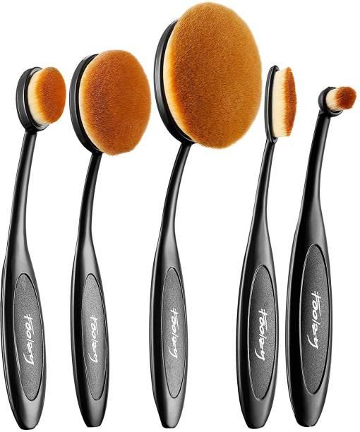 FOOLZY Big & Sexy ! Makeup Brush Collection 5 Pcs