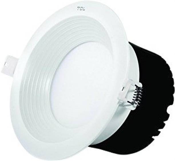 TCL LED DEEP DOWN LIGHT - 18W - 4000K (NATURAL WHITE)- HEAT RESISTANT ALUMINIUM WHITE BODY- RECESSED INSTALLABLE Recessed Ceiling Lamp