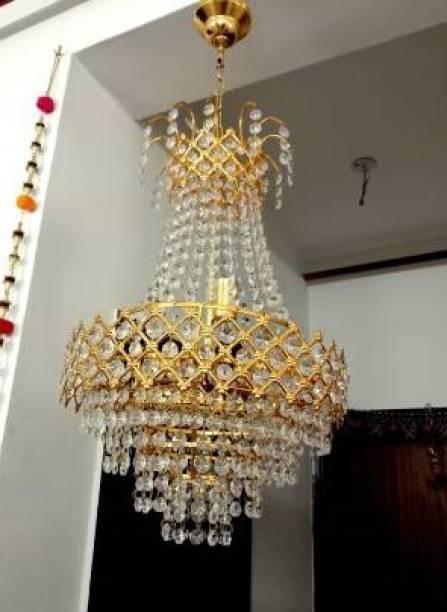 Prmoagen Glass octagon Beads Acid FLELTJHUBSZ_1 Chandelier Chandelier Ceiling Lamp
