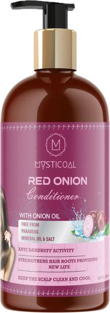 Mysticoal Red Onion Conditioner for Hair Growth & Hair Fall Control with Onion Oil