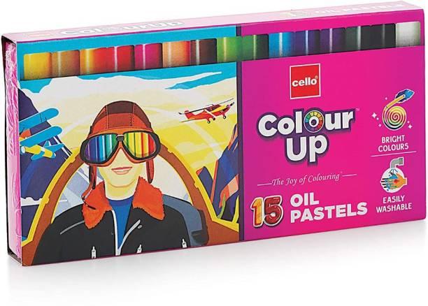cello ColourUp Oil Pastels 15 Shades