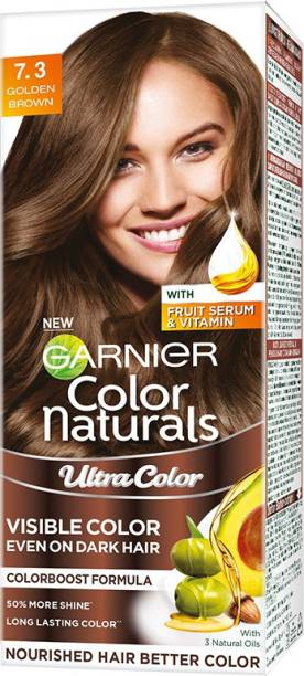 GARNIER Color Naturals Creme Riche , Golden Brown