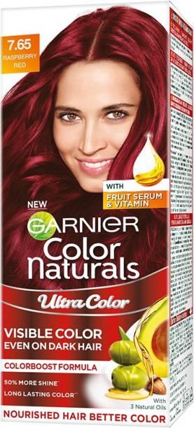 GARNIER Color Naturals Creme Riche , Raspberry Red