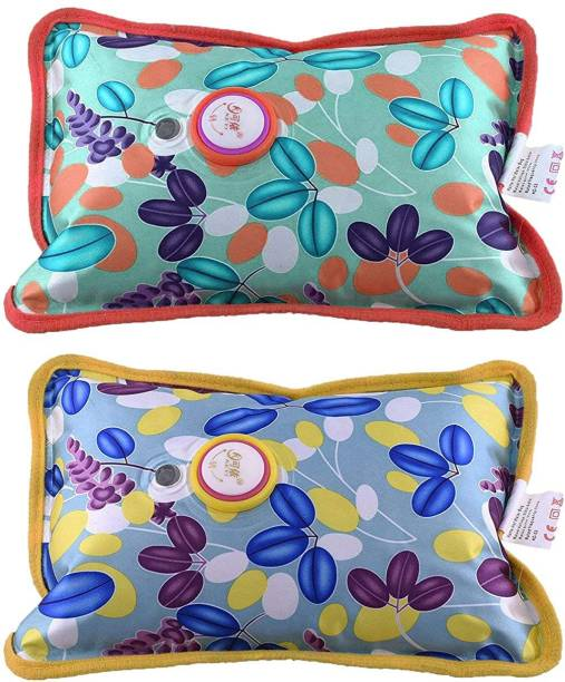 Man Lite Electric Charging Hot Water Pad/Bag/Pillow for Pain Relief with Gel for Massage, Heating Pad-Heat Pouch Hot Water Bottle Bag (PACK OF 2) Electric Water Bag 1 L Hot Water Bag