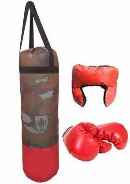 RCND Boxing Kit with Punching Bag for Kids 3 to 9 Years Boxing Kit Boxing Kit Hanging Bag