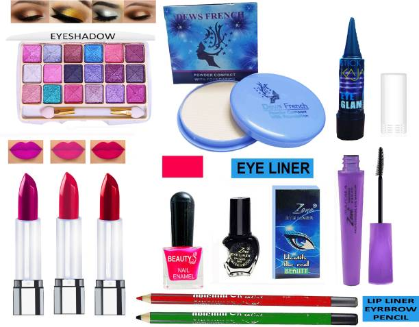 F-Zone Glowing Makeup Kit of 12 Items FZK66