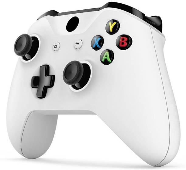 Clubics Wireless Gaming Xbox One Controller For Xbox Gaming Console (White, Wireless)  Motion Controller