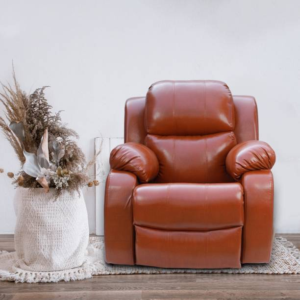 wellnap Leatherette Powered Recliner