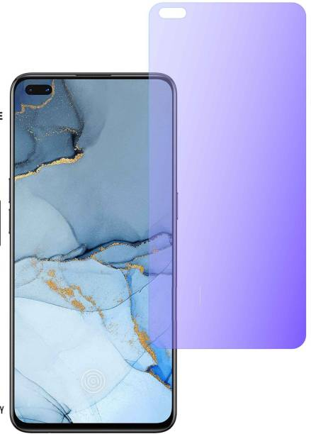 Novo Style Tempered Glass Guard for Oppo F17 Pro, Oneplus Nord, Reno 3 Pro Anti Blue Light Tempered Glass