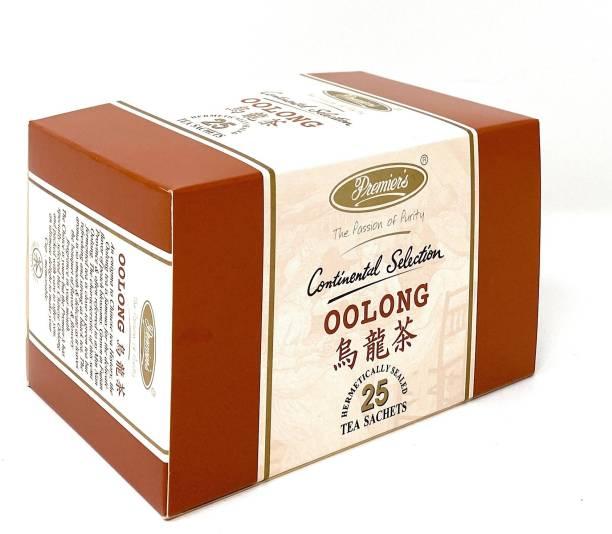 Premiers Oolong Tea | Garden Fresh | 25 Cups | 50 Grams | Tea Bags Oolong Tea Bags Box