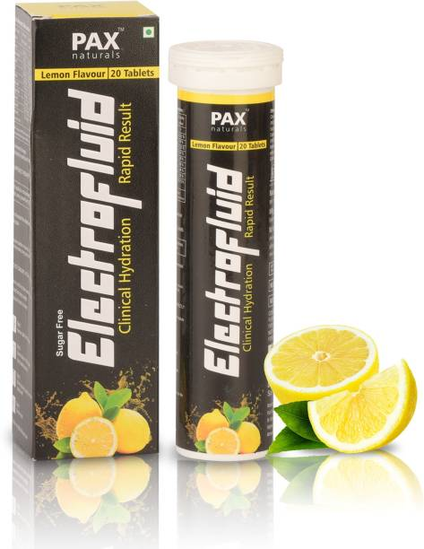 paxnaturals Electrofluid Electrolyte Instant Hydration Energy Drink for Workout Effervescent
