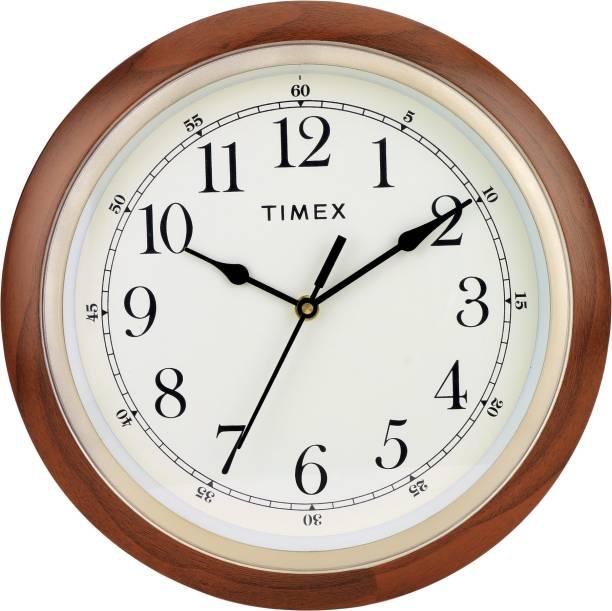 Timex Analog 25.4 cm X 25.4 cm Wall Clock