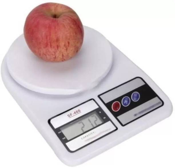 Grizzly Weighing Machine For Kitchen With LED Light, Digital Electronic Weight Scale 5 Kg Multipurpose Personal Use Health Home Gym Weighing Scale