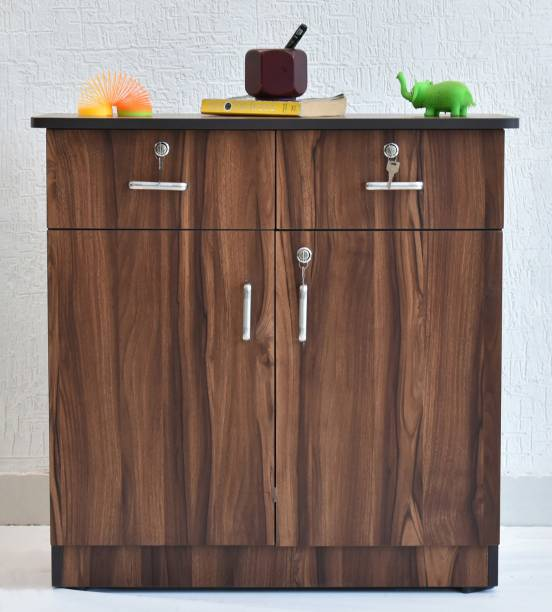 SamDecors Engineered Wood Free Standing Cabinet