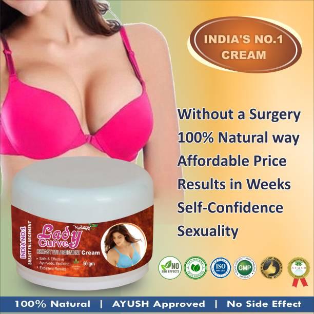 Natural Lady Curve Massage Cream For Increase Tightness & Improve Elasticity Organic Cream