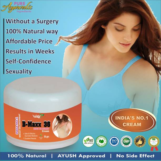 Natural B Max 36 Herbal Ayurveda Cream For Helps To Increase Breast Size