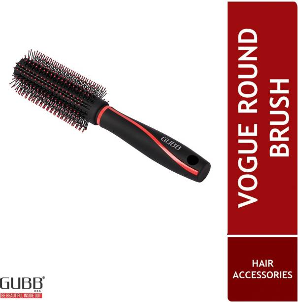 GUBB Round Hair Brush For Women & Men Blow Drying, Professional Hair Curler Brush (Vogue Range)