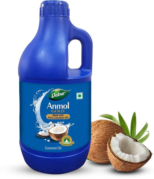 Dabur Anmol 100% Pure Coconut Oil Can