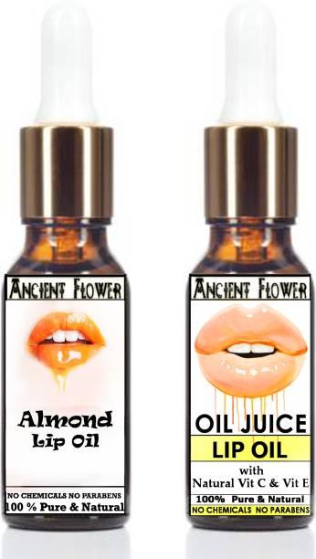 ANCIENT FLOWER - Almond Lip Oil& Oil Juice - Lip Oil