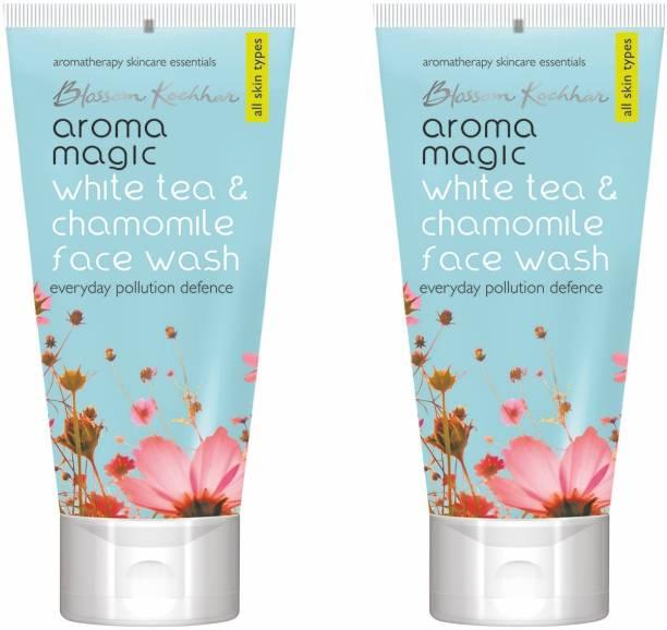 Aroma Magic White Tea & Chamomile Pack Of 2 Face Wash