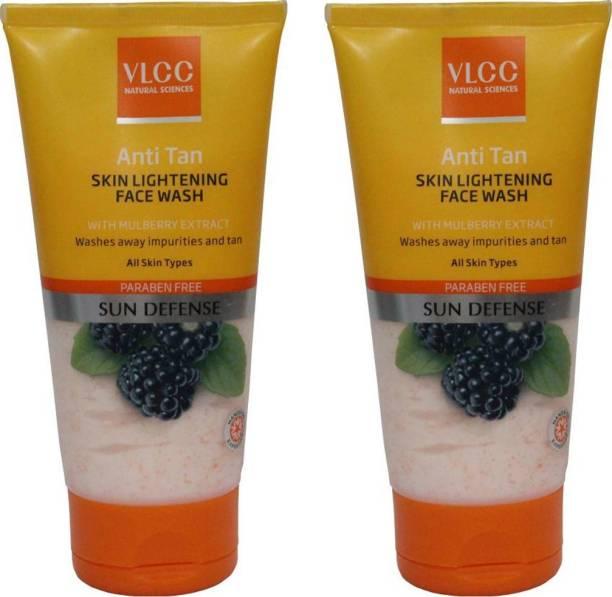 VLCC Anti Tan Skin Lightening  Pack Of 2 Face Wash