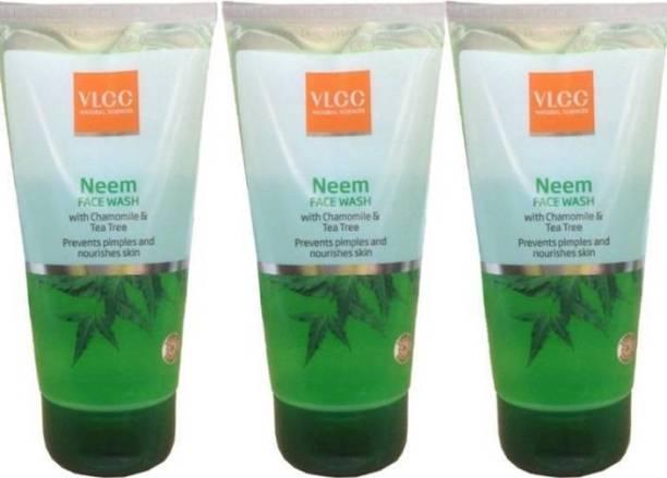 VLCC COMBO KIT NEEM FACE WASH (150*3ML0 Face Wash