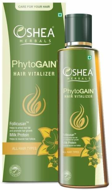 Oshea Herbals Phytogain Hair Vitalizer, Yellow, 120 ml