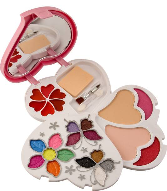 MARS 14 Eyeshadow, 2Blusher, 2Compact Powder,6 Lip color Makeup-Kit