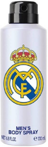 Real Madrid Original Deodorant Spray For Men (WHITE) Deodorant Spray  -  For Men