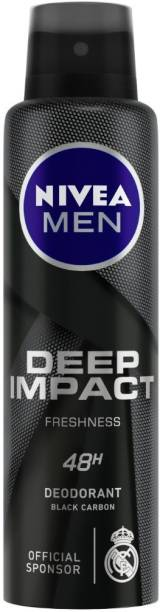 NIVEA Deep Impact Freshness Deodorant Spray  -  For Men