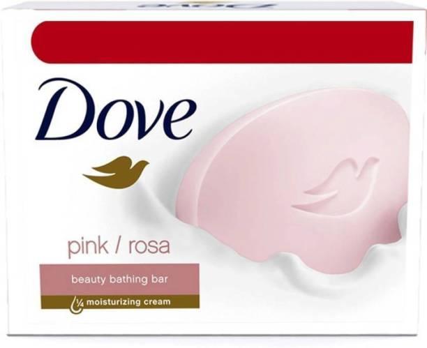 DOVE Pink Rosa Beauty Bathing Bars