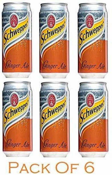 Schweppes Ginger Ale, Pack of 6 Can