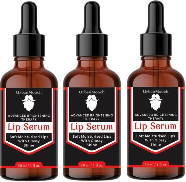 UrbanMooch Lip Lightening Serum for Dark Lips - Lip Lightener-30ML-Packof-3-Bottle-