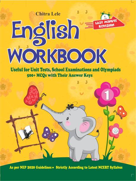 English Workbook Class 1 - Useful for Unit Tests, School Examinations and Olympiads