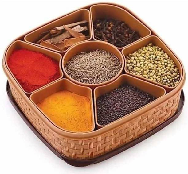 HUMBLE KART Spice Container And Masala Box spice rack 1 Piece Spice Set