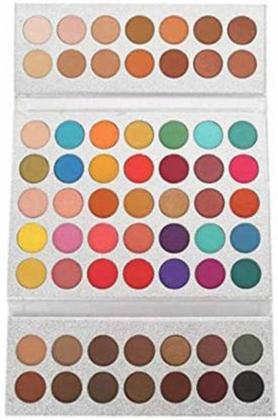 Beauty Glazed Gorgeous me Eye Shadow Try 63 colors eyeshadow palette 70g 70 g (multicolor) 70 g
