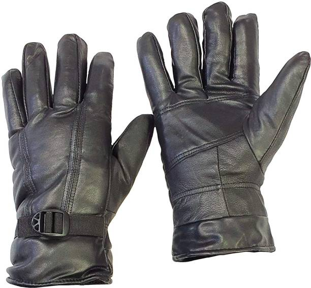 zaysoo Waterproof Winter Outdoor Gloves Athletic Touch Screen Gloves Riding Gloves BLACK Riding Gloves